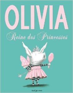Olivia reine des princesses